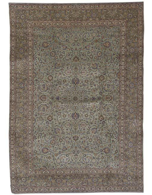 A fine Sahraii Kashan carpet,
