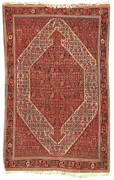 A fine antique Malayir rug, We