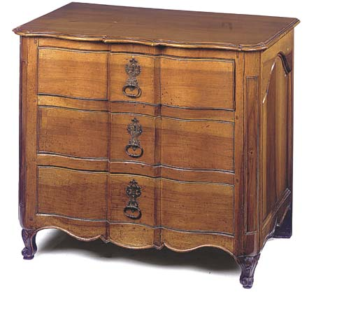 A FRENCH PROVINCIAL WALNUT COM