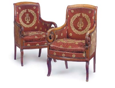 A PAIR OF FRENCH EMPIRE PROVIN