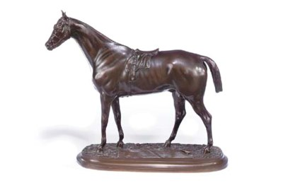 A FRENCH BRONZE MODEL OF A THO