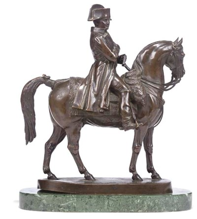 A FRENCH BRONZE MODEL OF NAPOL