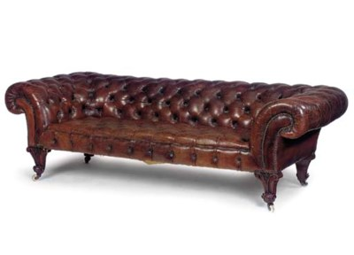 AN EARLY VICTORIAN WALNUT CHES