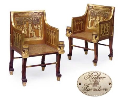 A PAIR OF AMERICAN GILT HEIGHT