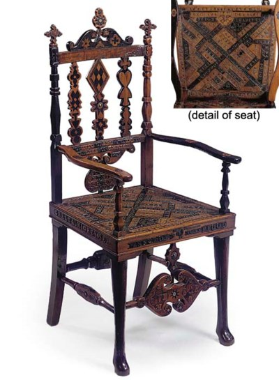 A SCOTTISH INLAID AND PROFUSEL