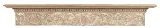 A GEORGE III PINE AND GESSO CH