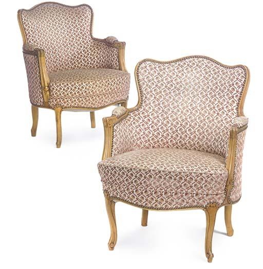 A PAIR OF FRENCH BEECH PETIT B