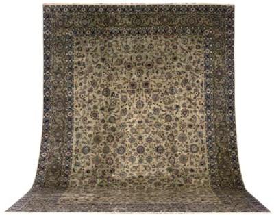 A fine Hashemi Kashan carpet,