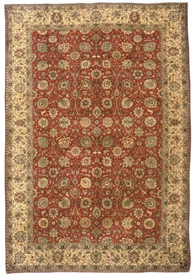 A fine R.Vani Tabriz carpet, N
