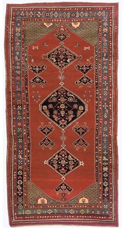 An antique Bakshaish carpet, N