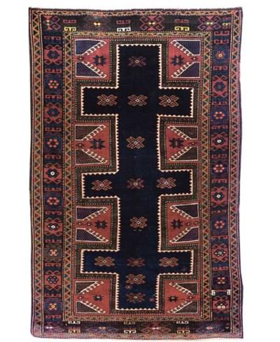 An unusual South Caucasian rug