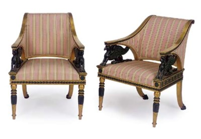 A PAIR OF SWEDISH NEO-CLASSICA