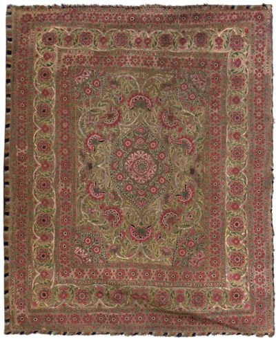 A SUMMER CARPET, MUGHAL, 18TH