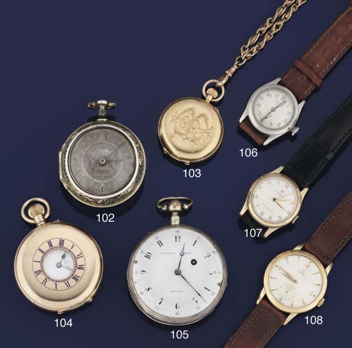 A 9ct. gold mid-size centre seconds wristwatch, by Rolex