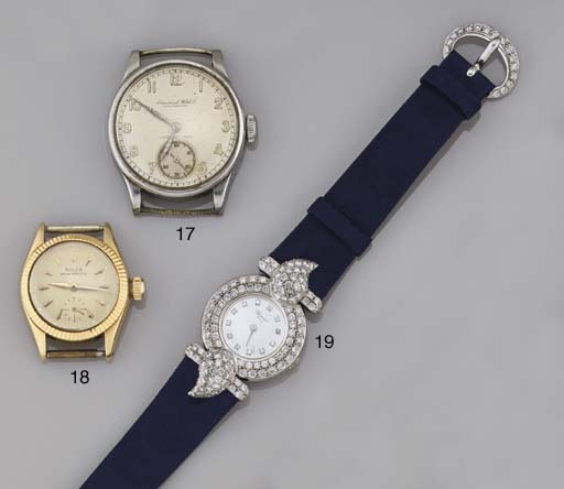 A gentleman's watch head, by I