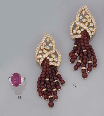 A pair of diamond and cornelia