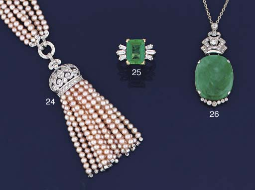 A diamond and cultured pearl s