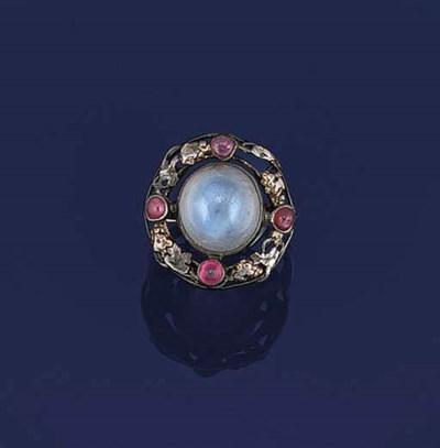 An Arts & Crafts star-sapphire