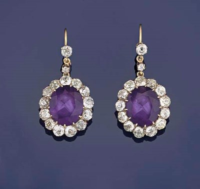 A pair of late Victorian ameth