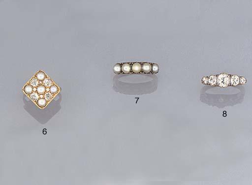 A late 19th century diamond fi