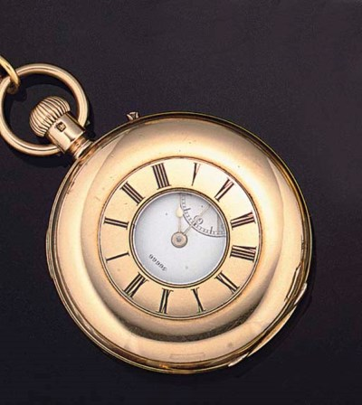 A keyless pocket watch with ch
