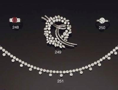 A diamond neckalce