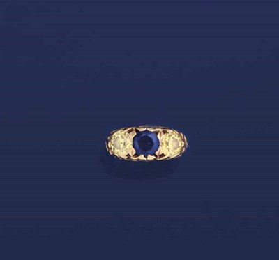 A 19th century diamond and sap