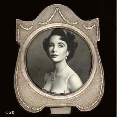 Seven various photograph frame