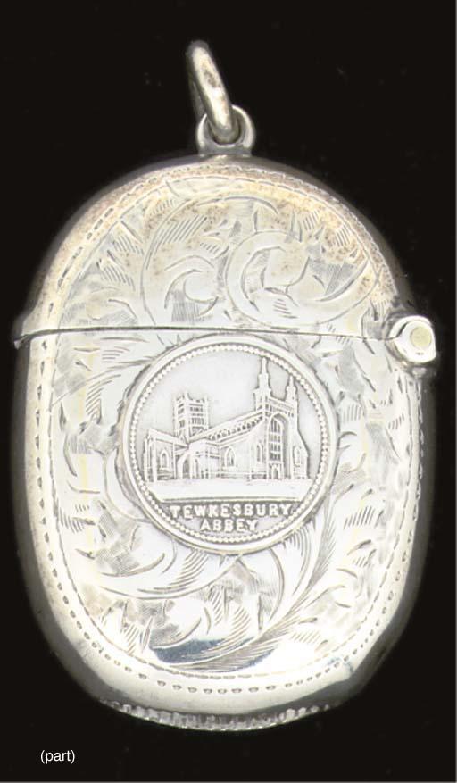 A late Victorian vesta case