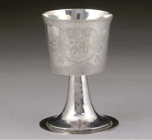 A CHARLES II SILVER WINE CUP,