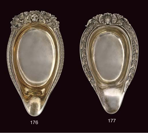 A GEORGE III PARCEL-GILT SILVE