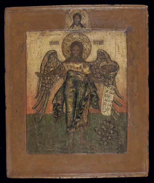 SAINT JOHN, ANGEL OF THE DESER