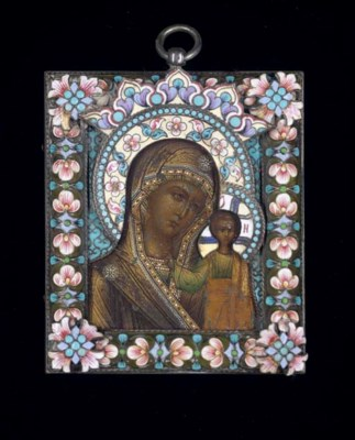 THE KAZANSKAYA MOTHER OF GOD