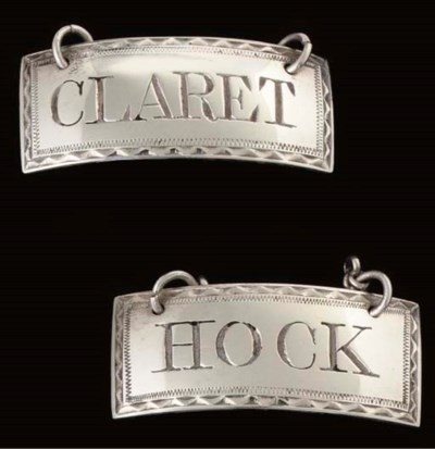 A PAIR OF GEORGE III SILVER RE