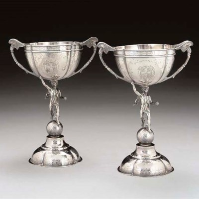 A PAIR OF VICTORIAN SILVER SPO