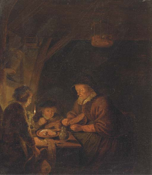 Follower of Gerrit Dou