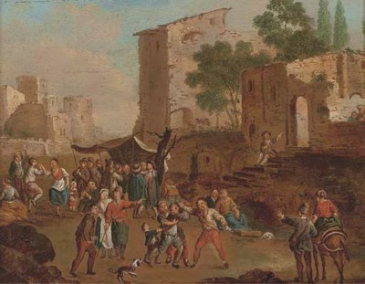 Manner of Cornelis de Wael