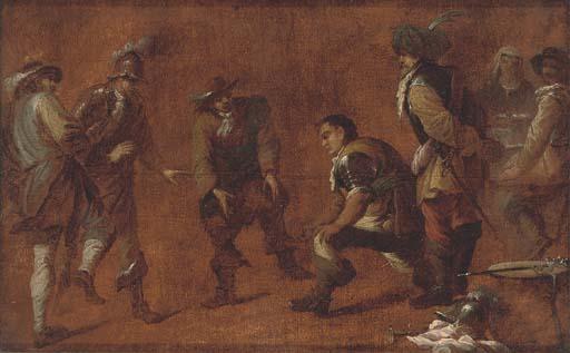 Circle of Cornelis de Wael (An