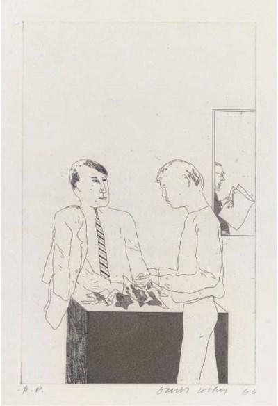 David Hockney RA