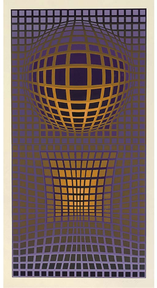 Victor Vasarely, (French/Hunga