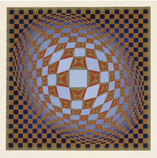 Victor Vasarely (French/Hungar