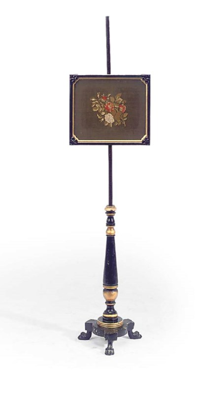 AN EARLY VICTORIAN PARCEL-GILT