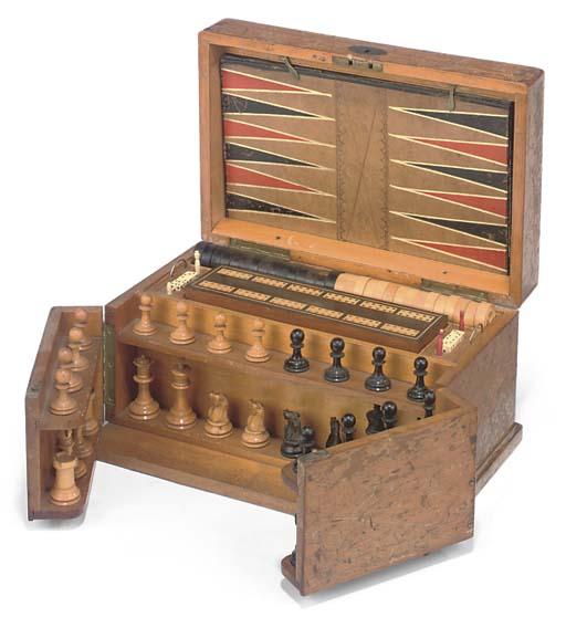 A VICTORIAN PINE GAMES-COMPEND