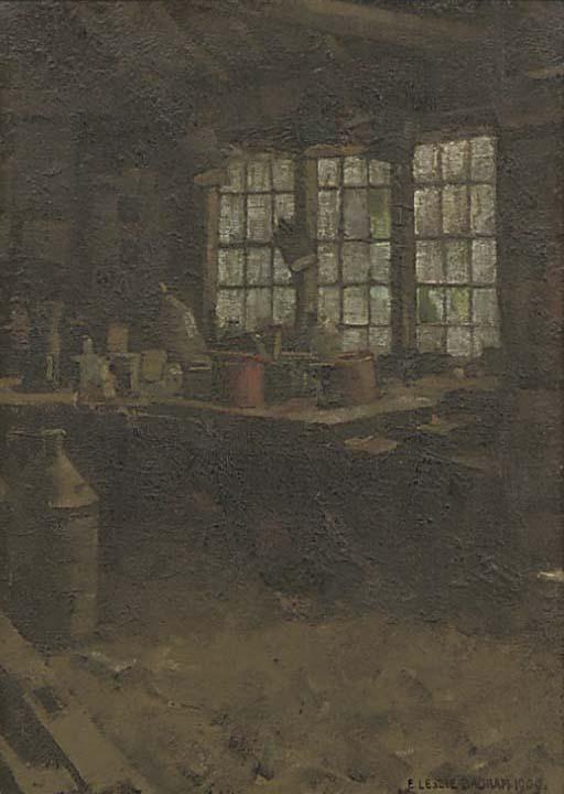 E. LESLIE BADHAM (BRITISH, CIR