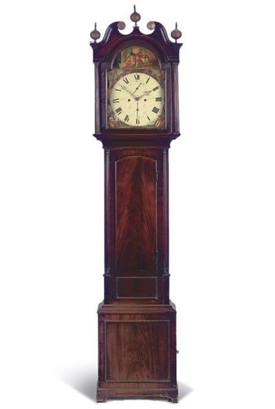A VICTORIAN SCOTTISH MAHOGANY