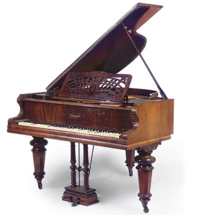 A BEULHOFF ROSEWOOD AND GRAINE