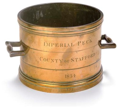 A BRASS ALLOY 'PECK' IMPERIAL
