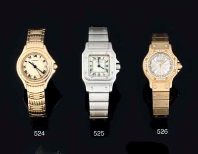 Cartier. A Lady's 18ct Gold an