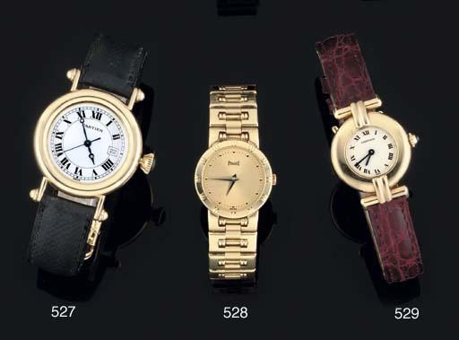 Piaget. A Lady's 18ct Gold Qua