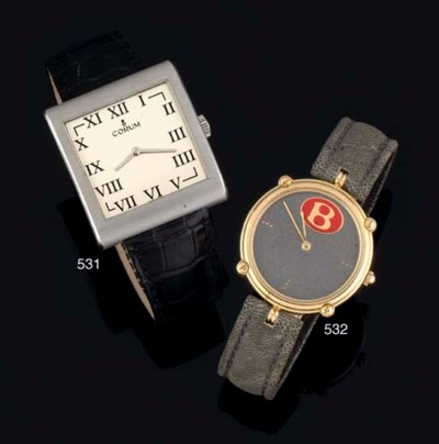 Corum. A Stainless Steel Large